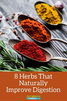 8 Herbs That Naturally Improve Digestion // Upgrade your skincare routine today for healthier & amazing looking skin, using our discount code 'Pinterest10' at herbavana.com