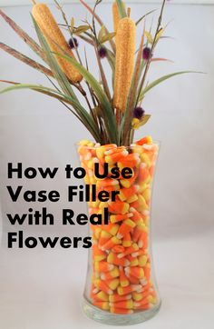How to Make Decorative Vases | Easy Decorations with Vase Filler