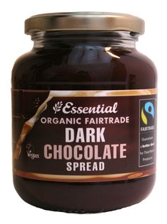 Essential Organic #Fairtrade Dark Chocolate spread. http://www.essential-trading.co.uk/extranet/catalogue/products/S103P.html