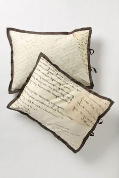 Love this. Called a love letter sham.