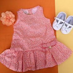 Vestido levinho e soltinho, corações da 1+1 😍!   Para as Babys de 0 a 12 meses e na linha irmã do 1 ao 3.   Venha conferir em: www.purezababy.com.br/vestido-11-coracoes-laranja   #Minidiva #lojavirtualinfantil #modainfantil #gravidez #maternidade #lookinhododia #purezababy #littlebaby #babyfashion #babykids #modababy #lojainfantil #baby #kids #fashion