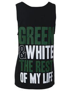Kappa Delta Green And White Tank - Adam Block Design Kappa Delta Sorority, Alpha Epsilon Phi, Gamma Phi, Phi Mu, Sorority Life, Delta Girl, Custom Greek Apparel, Apparel Design, White Tank