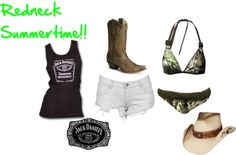 """""""Summertime3"""" by lacy-bilderback ❤ liked on Polyvore"""
