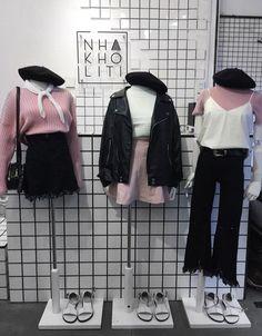 Black n pink theme/style ootd