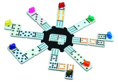 Cardinal Mexican Train Domino Game with Aluminum Case $11.99