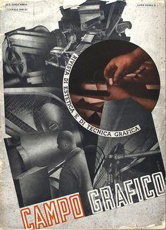 Campo Grafico - Nº1 - Carlo Dradi, Attilio Rossi & Battista Pallavera, January 1933