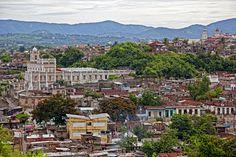 Santiago de Cuba shot from the roof of the Art School. #Cuba #travel #InsightCuba
