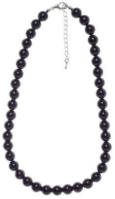 COLLECTIF BEADED NECKLACE BLACK
