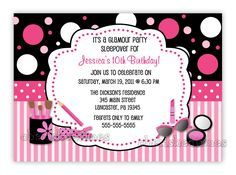 Download Now FREE Template 10 Year Old Birthday Invitations