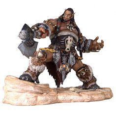 BLOG DOS BRINQUEDOS: Warcraft Movie Durotan Statue