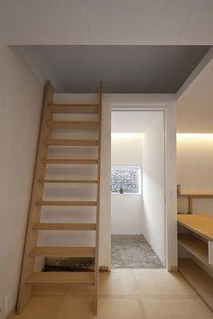 Escalera: Casa L - BCHO #arquitectura