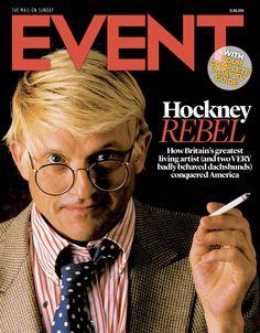 David #Hockney, Aug 31st 2014  #EventCover