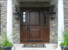 The door is the same as the one I saw, but the sidelights I want are different. therma tru entry doors - Google Search