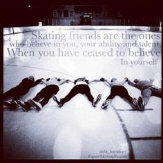<3 I love being the for my skating friends when their down. Of course I rather them not be down, but at least I'm there to pick them up Ice Skating Quotes, Figure Skating Quotes, Ice Quotes, Synchronized Skating, Roller Derby, Roller Skating, Hockey Decor, Skate 3, Ice Show