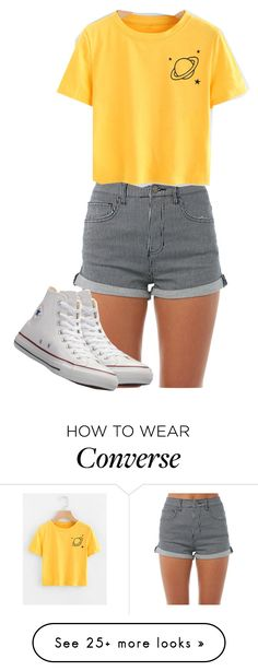 """Untitled #161"" by cyan58 on Polyvore featuring Billabong and Converse"