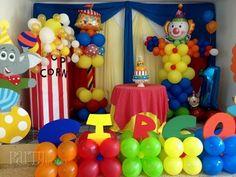 Circus bday party