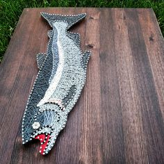 Fish string art google search string art pinterest for Fish string art