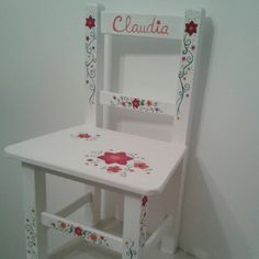 Toddler Chair, Chalk Paint, Ideas Para, Decoupage, Shabby, Vanity, Crafting, Furniture, Awesome