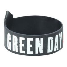 Green Day American Idiot Rubber Bracelet   Hot Topic ($5.60) ❤ liked on Polyvore featuring jewelry, bracelets, bracelet bangle, rubber bangles, green rubber bracelet, green jewelry and green bracelet