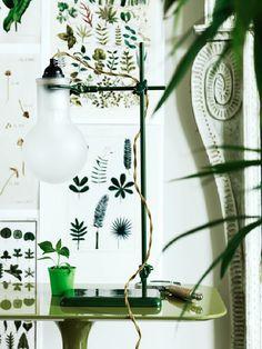 Elle interiör pressed plants