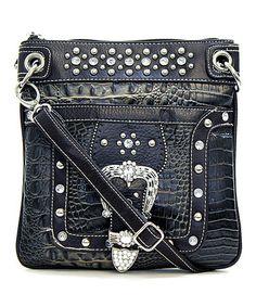 Black Grace Crossbody Bag