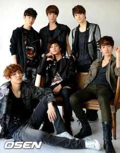 EXO K  South Korea has a bumper crop of boy bands. It's like Cougar (as in the female) bait country.