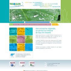 Site vitrine de la société Thieulin à Thise, spécialiste des stations de pompage.  Administration sur-mesure des documents et des actualités. www.thieulin.com
