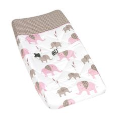@Overstock.com - Sweet JoJo Designs Changing Pad Covers are especially created to coordinate with their nursery bedding sets to complete the look and feel of the bedroom theme for your child.http://www.overstock.com/Baby/Sweet-JoJo-Designs-Pink-and-Taupe-Mod-Elephant-Baby-Changing-Pad-Cover/7588778/product.html?CID=214117 $26.99