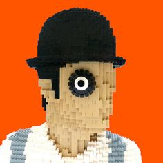 Droogs, viddy this horrorshow Clockwork Orange sculpture