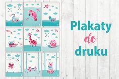 Organizer 2019 do pobrania - planer PDF do druku | Piafka Brain Dump, Room Decor, Organization, Baby, Poster, Getting Organized, Organisation, Tejidos, Room Decorations
