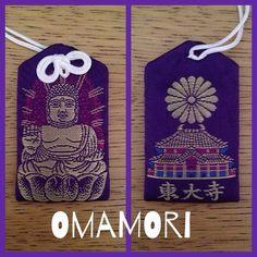 """#InstagramELE #sano  Otro regalo que nos trajeron estos amigos fue este #omamori un amuleto japonés que compraron en el templo Tōdai-ji. El nombre del amuleto viene del verbo """"mamoru"""" que significa cuidar proteger y defender. Consiste en una bolsa de tela con una lámina en su interior que contiene el nombre del Dios protector y una oración (esta bolsa no se debe abrir nunca). Un amuleto para tener buena suerte en general para estar sano para tener amor dinero... Nuestra amiga rezó en el…"""