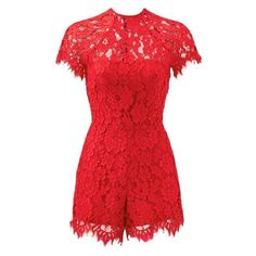 Red Romper Dress - Red Romper Dress Source by lucillegomezt - Red Romper, Lace Jumpsuit, Romper Outfit, Playsuit Romper, Lace Romper, Dress Red, Long Cocktail Dress, Chiffon, Trends