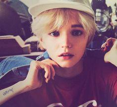 久しぶりにGISELe買ったらやっぱりこの子しか目がいかないわたしが好きな少年感もあるけど可愛さ美しさクールさまで全部ズルい服も小物も喜んじゃうね、似合いすぎて。金髪したいしたいしたい…できんけど‼︎ #ジゼル #GISELe #8月号 #magazine #alisa #アリーサ #model