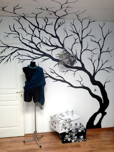Wall painting.... Want to do this!