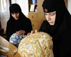 embroidery orthodox icons - Google zoeken