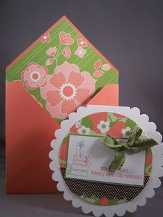 Learn to make envelopes for every card.
