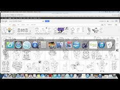 """Minion SVG - Awesome tutorial - will watch this when I need to """"paper piece"""" things with my Silhouette Cameo!"""