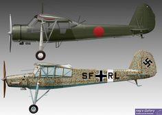KOKUSAI-Ki76 & Fi 156