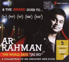 And the Award Goes to...A.R. Rahman||  And the Award Goes to...A.R. Rahman INR 109.00 View Details   that's bad. there are also a few tracks in south ...   By  Adhip Mitra - See all my reviews  Verified Purchase(What is this?)  This review is from: And the Award Goes to...A.R. Rahman (MP3 CD)  some of the songs [ though only a few] are not the original tracks. that's bad. there are also a few tracks in south indian languages.   but a great listen and worthy of repeat   By  rbm - See all my…
