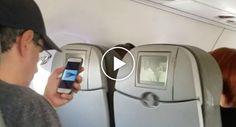 Passageiro Apanhado a Ver Vídeo Sobre Os Ataques Do 9/11 Durante Descolagem De Avião