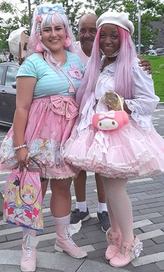 Japanese Kawaii Fashion, Japanese Outfits, Kawaii Dress, Kawaii Clothes, Harajuku Fashion, Lolita Fashion, Alternative Outfits, Alternative Fashion, Anime Outfits