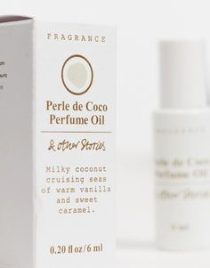 & Other Stories Perle de Coco roll on perfume 6ml | ASOS