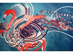 Discover the amazing world of Yasuko Aoyama Prints. Meet the modest Yasuko Aoyama, a genius in making breathtakingly beautiful prints. Her art has a flo. Japanese Patterns, Japanese Prints, Antique Illustration, Illustration Art, Pattern Art, Print Patterns, Oriental Print, Asian Design, Sketchbook Inspiration