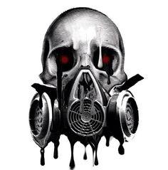 Masque Gaz Skull Mask Gas Masks Art