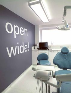 This innovative practice showcases the state of the art, super soft A-Dec 500 dental chair with built in monitors.