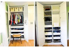 Ikea Storage System can be used for family room. SidebysideBlog