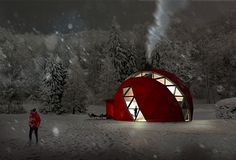 All-Season Dome Home Design And Style By No Rules Just Architecture