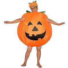 Vantina Inflatable Halloween Pumpkin Costume Bodysuit Blow Up Party Dress Suit Tag a friend who would should wear this! Happy Halloween Pictures, Halloween Themes, Halloween Costumes, Halloween Christmas, Halloween Pumpkins, Cool Costumes, Adult Costumes, Adult Pumpkin Costume, Inflatable Pumpkin
