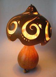 Gourd Lamp su kabağı lambası, kabak lamba, gourd lamp … | pinteres…