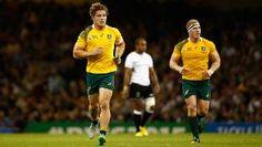 Australia put faith in Michael Hooper and David Pocock's partnership against England Michael Hooper, Rugby World Cup, David, England, Faith, Australia, Loyalty, English, British